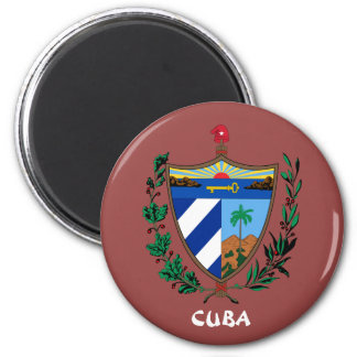 Cuba Coat of Arms Kitchen/Office Magnet
