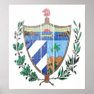 Cuba Coat Of Arms Posters