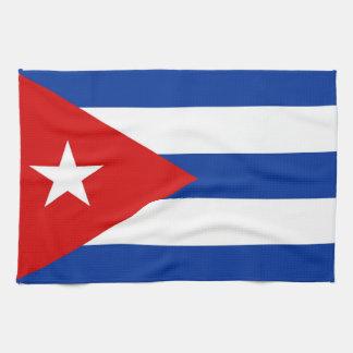 cuba country flag towel