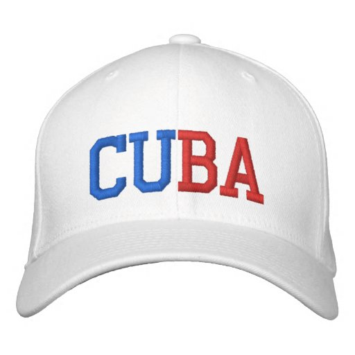 Cuba Embroidered Hat