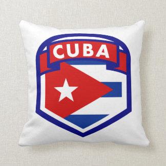 Cuba Flag Coat Of Arms Cushion