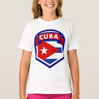 Cuba Flag Coat Of Arms T-Shirt
