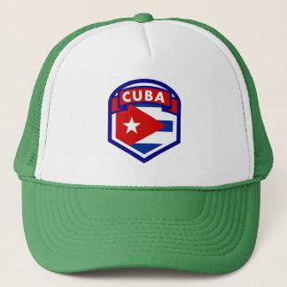 Cuba Flag Coat Of Arms Trucker Hat