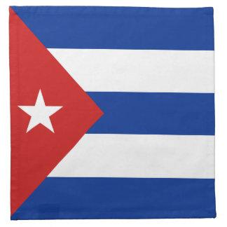 Cuba Flag Napkin
