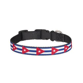 Cuba Flag Pet Collar