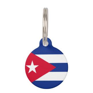 Cuba Flag Pet ID Tag