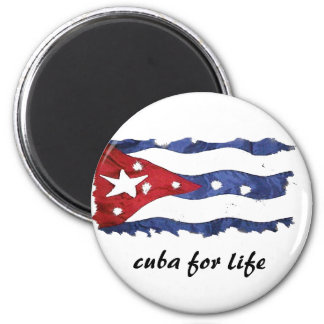 cuba for life Magnet