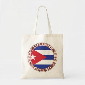 Cuba Greatest Team Budget Tote Bag