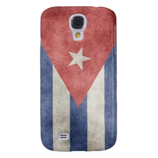 Cuba Grunge Flag Galaxy S4 Cover