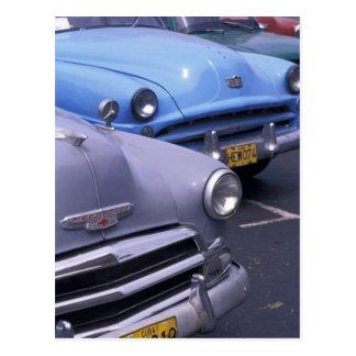 Cuba, Havana. Classic 1950's autos Postcard
