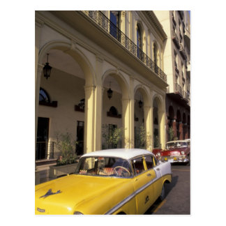 Cuba, Havana. Colorful Chevy's from the 1950's Postcard