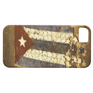 CUBA, Havana. Mosaic puzzle of the cuban flag in iPhone 5 Case