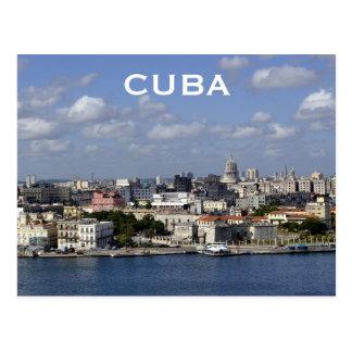 Cuba Havana Vintage Travel Tourism Add Postcard