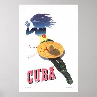 Cuba--Holiday Isle of the Tropics (Cuba 1) Poster