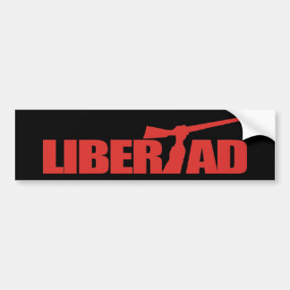 Cuba -Libertad Bumper Sticker
