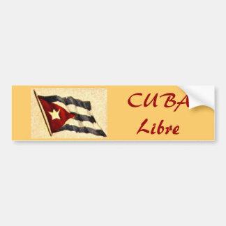 CUBA Libre Bumper Sticker