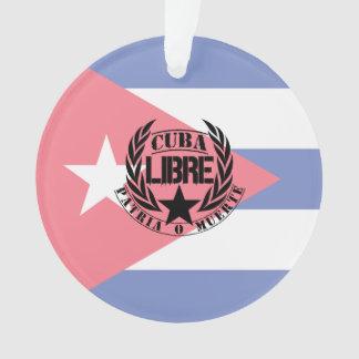 Cuba Libre Motto Laurels Ornament