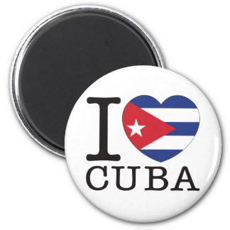 Cuba Love v2 Magnet
