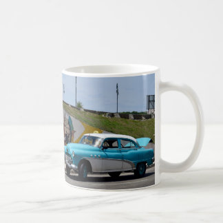 Cuba Old Car Colorful Havana Art Coffee Mug