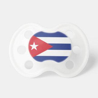 Cuba Plain Flag Pacifier