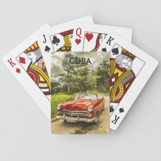 Cuba Poker Deck