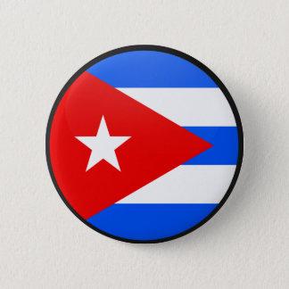 Cuba quality Flag Circle 6 Cm Round Badge
