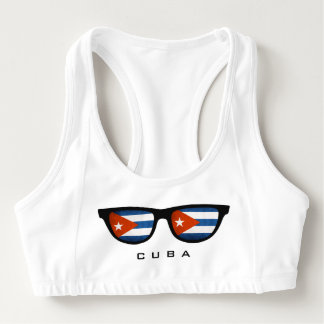 Cuba Shades custom sports bra