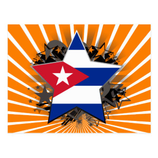 Cuba Star Postcard