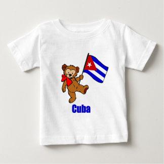 Cuba Teddy Bear Baby T-Shirt