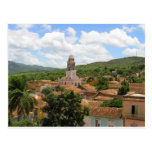 Cuba Town View Post Cards