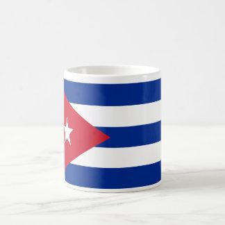 Cuba World Flag Basic White Mug