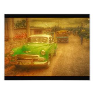 Cuba Yesteryear Photo Print
