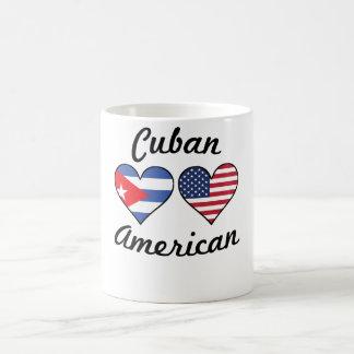 Cuban American Flag Hearts Coffee Mug