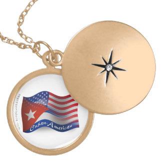Cuban-American Waving Flag Custom Jewelry