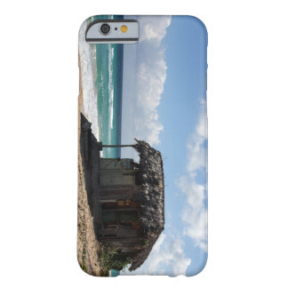 Cuban Beach Hut On Caribbean Barely There iPhone 6 Case