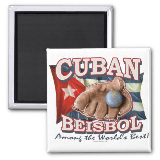 Cuban Beisbol Fan Shirts and Gift Ideas Magnet