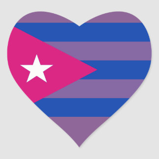 Cuban Bi Pride Bisexual LGBT sticker