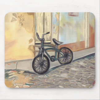 cuban bicycle mouse pad