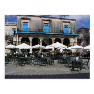 Cuban Cafe Postcard