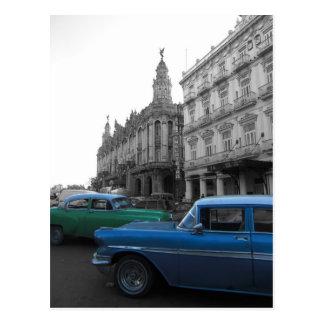 Cuban Cars 1 Postcard