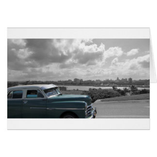 Cuban Cars 2 Card