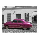 Cuban Cars 4 Postcard