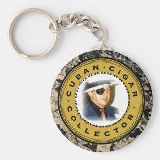 """Cuban Cigar - """"Collector"""" Key Chain"""