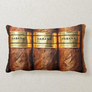 Cuban Cigar Lumbar Pillow