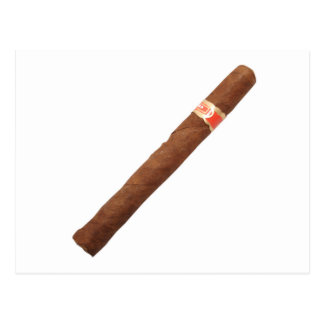Cuban Cigar Postcard