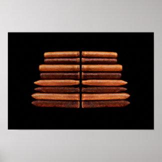 Cuban Cigar Tobacco Minimalism Poster