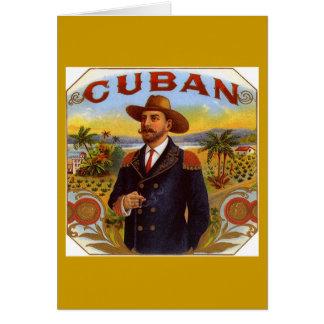Cuban Cultural Greeting Card