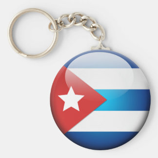 Cuban Flag 2.0 Key Ring