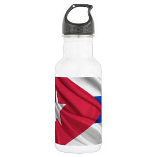 Cuban Flag 532 Ml Water Bottle