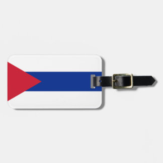 Cuban Flag - Bandera Cubana - Flag of Cuba Luggage Tag